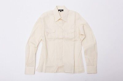 A.P.C. Long Sleeve Pocket Shirts S Yellow Womens Used