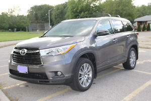 2016 Toyota Highlander XLE V6 AWD with 24,200 km for $38,900
