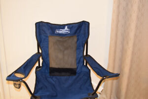 4 Folding Beach Chairs with cup holder