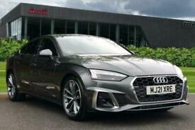 image for 2021 Audi A5 Sportback S line 35 TFSI  150 PS S tronic Auto Hatchback Petrol Aut