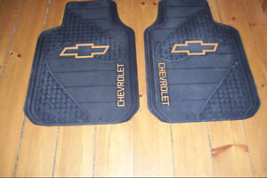 Chevrolet Rubber Floor Mats With Bow Tie Like New Condition