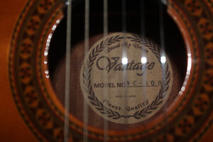 VINTAGE CLASSICAL GUITARS