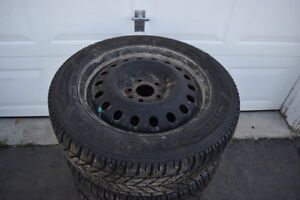 Dodge Avenger 225/55/17 Goodyear Snows On Rims 90% Tread