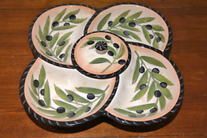 Beautiful vegetables serving tray
