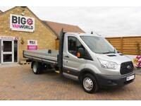 2016 FORD TRANSIT 350 TDCI 125 L4 ' ONE STOP ' 14FT ALLOY DROPSIDE DRW DROPSIDE
