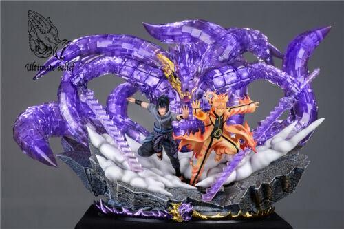 Uzumaki Naruto Uchiha Sasuke Statue GK Resin Model Ultimate Belief New