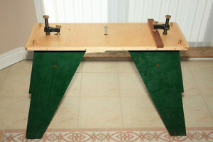 PLANS for Sturdy Saw Horse / Mini Work Bench for sale