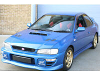 Subaru Impreza Type R 555 limited edition ONLY £9995!! STI WRX