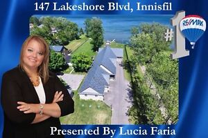 One of a kind waterfront property in Innisfil!