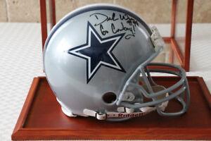 Dallas Cowboys Demarcus Ware Autographed Full Size NFL Helmet