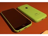 iPhone 5c green 16gig unlocked