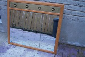 4 Light Medicine Cabinet  with oaks finish