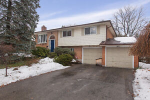 Spacious home backing onto green space