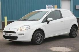 2013 FIAT PUNTO 1.3 MULTIJET DIESEL MANUAL VAN, **ONLY 12000 MILES** CAR DERIVED