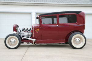 "1931 FORD MODEL A TUDOR  ""TRADITIONAL HOT ROD"""