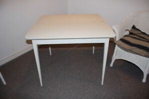wooden square tables $10.00 each