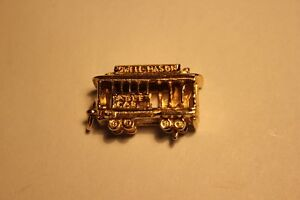 Sterling Silver Charm / Pendant Trolley Car (VIEW OTHER ADS) Kitchener / Waterloo Kitchener Area image 1