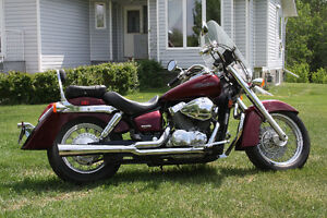 PRICE REDUCED!!  Mint Condition Honda Shadow
