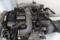 NISSAN SKYLINE R33 2.5L TURBO ENGINE MANUAL 5SPD TRANS