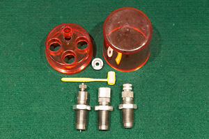 Reloading dies by Lee, RCBS and Hornady