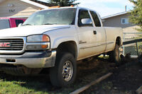 2001 Chevy 2500 Diesel NEEDS TO GO