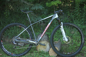 SPECIALIZED STUMPJUMPER - S-works built - LIKE NEW