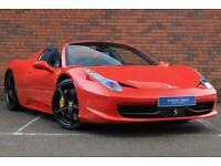 2013 Ferrari 458 4.5 Spider Auto Seq 2dr Convertible Petrol Automatic