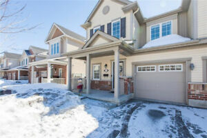 Stunning End Unit 3- Bedroom Townhome no Rear Neighbours