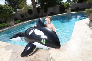 4 INFLATABLE POOL TOYS