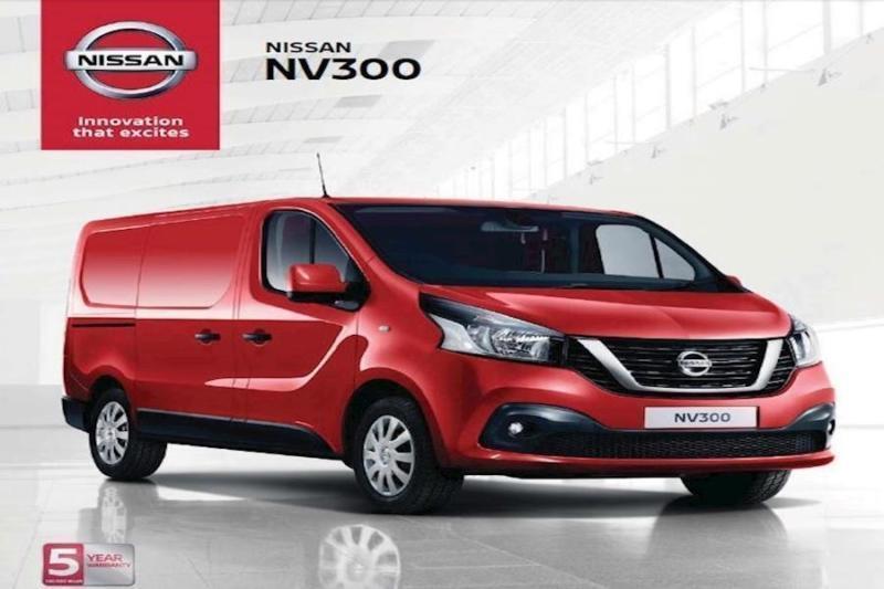 0dfcb7ad89 New 18 Nissan NV300 L2 H1 LWB Acenta 120ps Crew Van Zero Deposit Finance