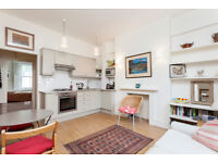RAISED GROUND FLOOR FLAT/DOUBLE BEDROOM & SINGLE BEDROOM/OPEN PLAN RECEPTION/FITTED KITCHEN