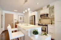 Luxurious 1 bedroom condo with appliances/garage/amenities!