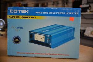 Cotek 600W Pure Sine Wave Power Inverter - NEW IN BOX