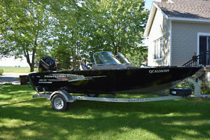 Princecraft Hudson DLX 2014 - 150hp Mercury
