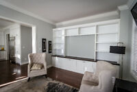 Custom Closet Media Console Wall Unit Storage Custom Cabinets