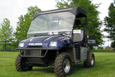 Polaris Ranger Folding Windshield 2004-2008 Full Size ()