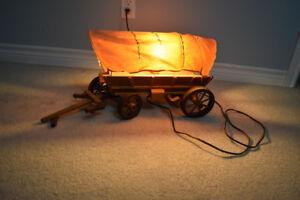 antique vintage covered wagon light UXBRIDGE AREA
