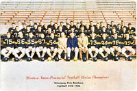 1953 Winnipeg Blue Bombers Picture Autographed!