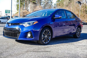 For Sale: 2015 Toyota Corolla S (Blue)