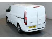 FORD TRANSIT CUSTOM 2.0 270 LIMITED L1 H1 SHORT WHEELBASE LOW ROOF 5D 129BHP A/C