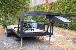Fifth wheel Cargo Trailer
