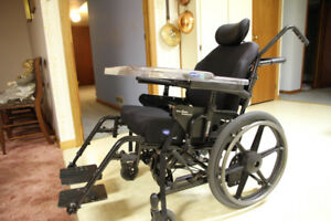 Incredibly adjustable and very comfortable Orion2 wheelchair