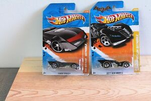 TWO BATMOBILE'S 1;64 HOT WHEEL'S