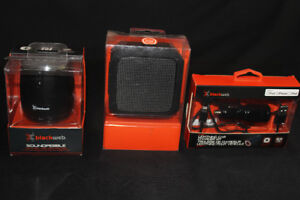 Black Web bluetooth speakers for cheap!