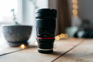 Rokinon 35mm 1.4 Sony E mount - Filmmaking and Photography