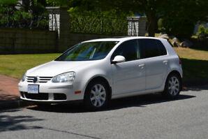 2008 2.5L White VW Rabbit
