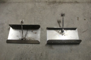 Stainless Steel Trim Tabs for boat transom