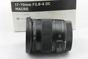 Canon SIGMA 17-70mm F2.8-4 DC MACRO  CONTEMPORARY LENS