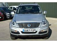 2017 Ssangyong Rexton 2.2 TD SE 4x4 5dr Auto SUV Diesel Automatic