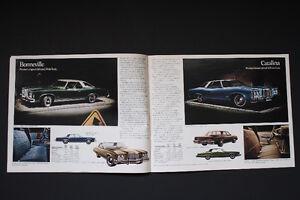 Brochure Pontiac 1974 (modèles Américains) Québec City Québec image 3